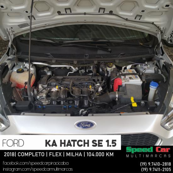 FORD Ka Hatch 1.5 12V 4P TI-VCT SE FLEX, Foto 19