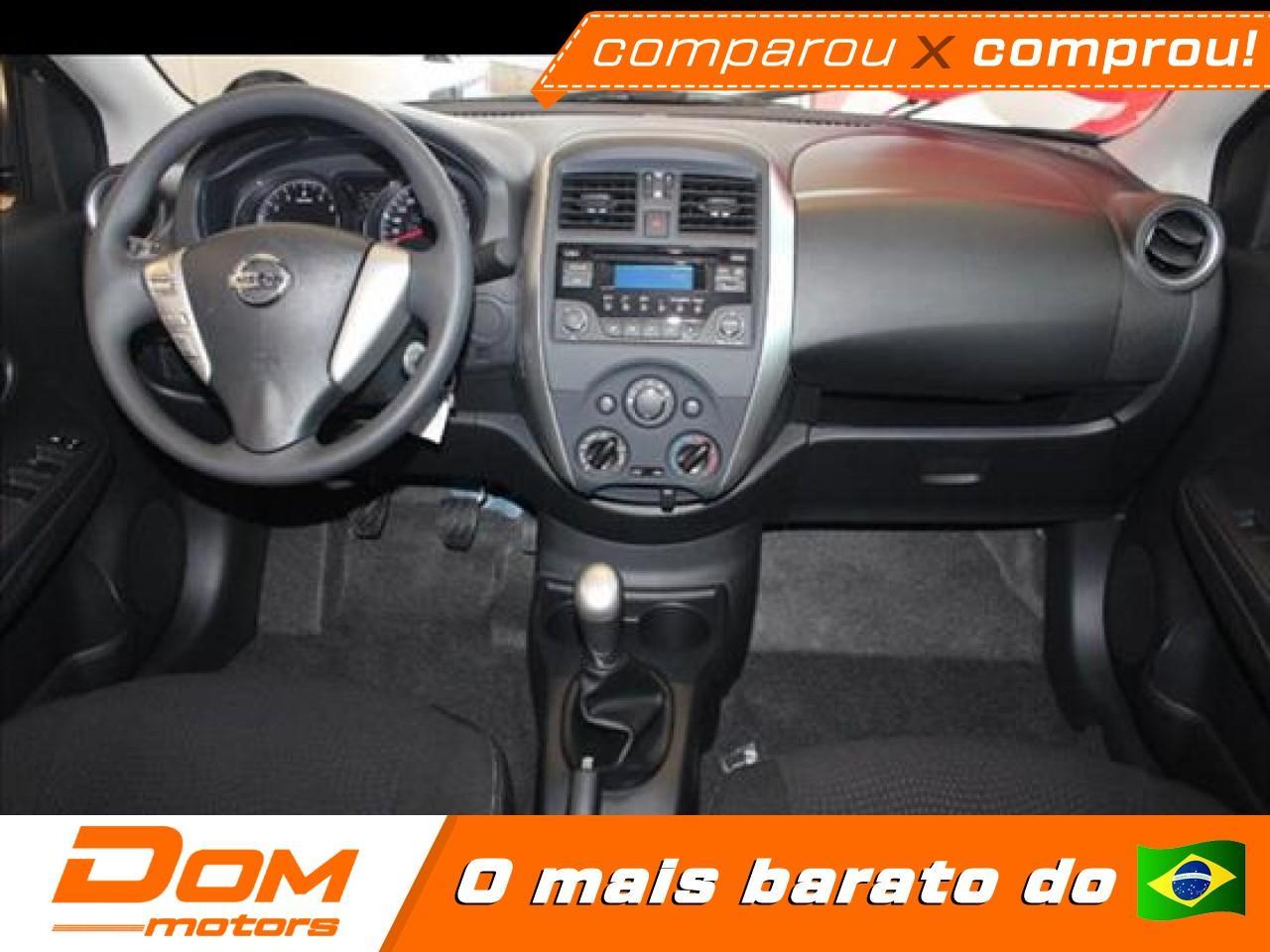 NISSAN Versa Sedan 1.6 16V 4P FLEX SENSE XTRONIC AUTOMÁTICO CVT, Foto 3