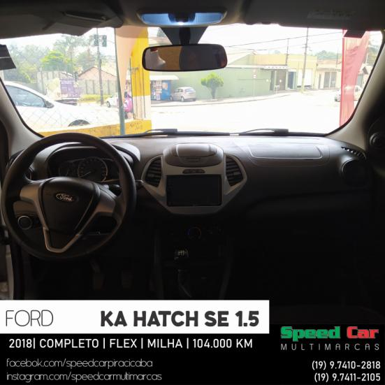 FORD Ka Hatch 1.5 12V 4P TI-VCT SE FLEX, Foto 4