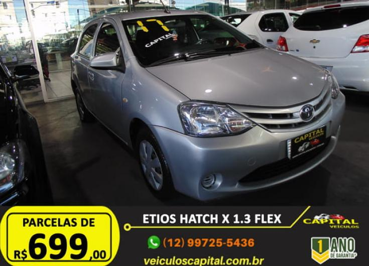 TOYOTA Etios Hatch 1.3 16V 4P FLEX, Foto 5