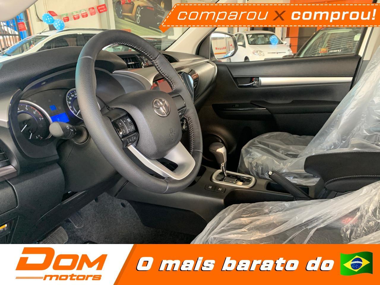 TOYOTA Hilux Caminhonete 2.7 16V 4P SR CABINE DUPLA AUTOMÁTICO, Foto 7