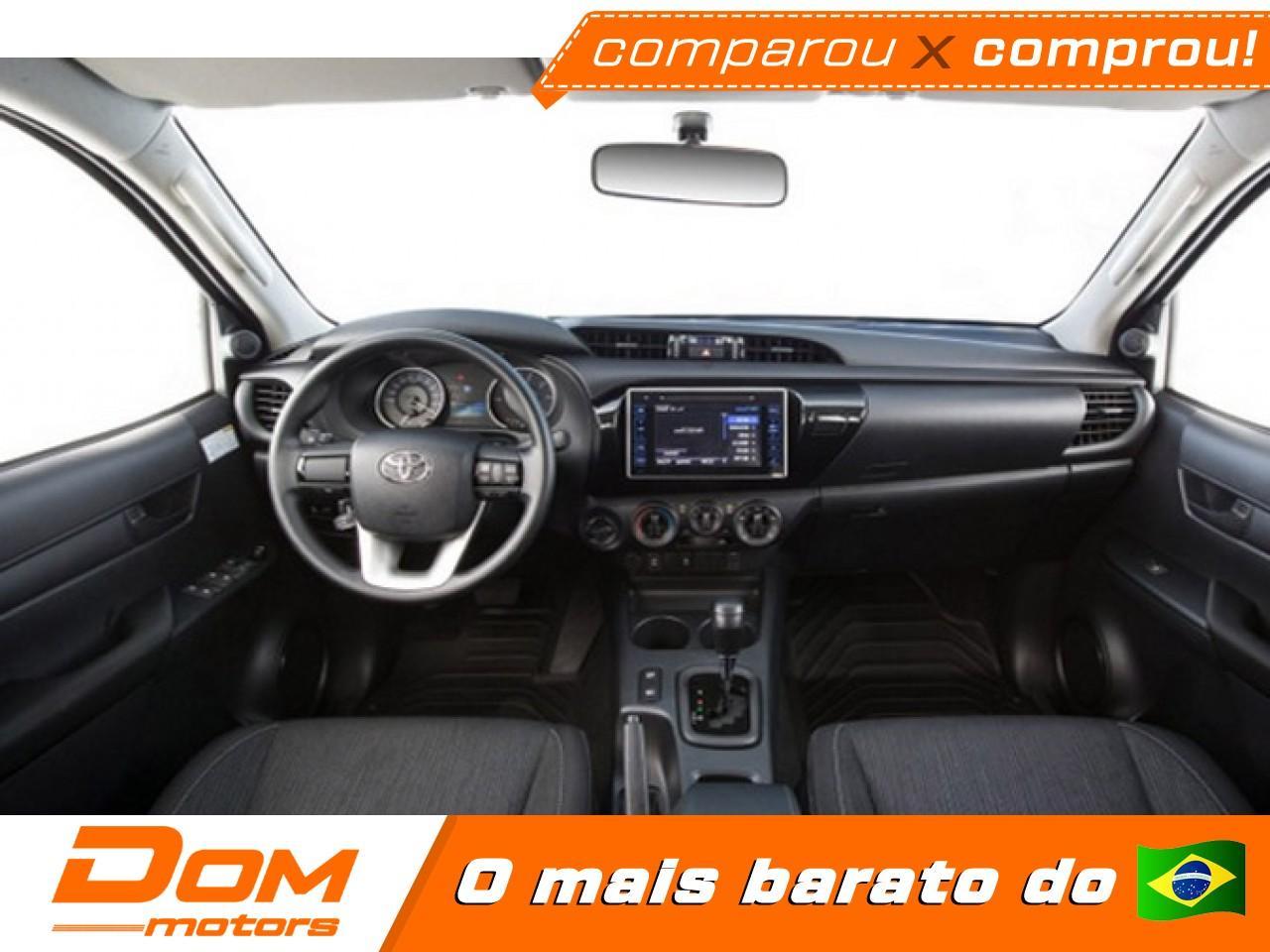 TOYOTA Hilux Caminhonete 2.7 16V 4P SR FLEX CABINE DUPLA, Foto 2