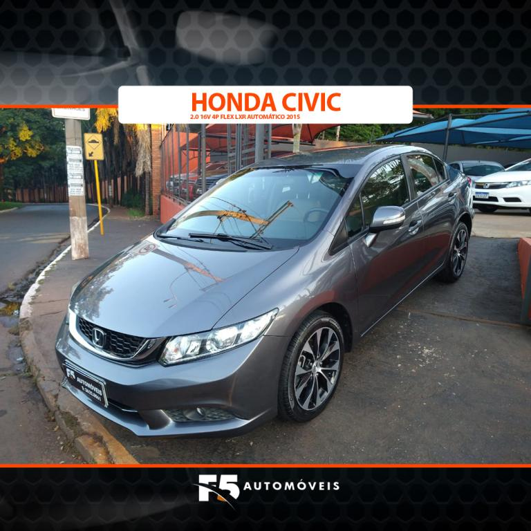 HONDA Civic 2.0 16V 4P FLEX LXR AUTOMÁTICO, Foto 4