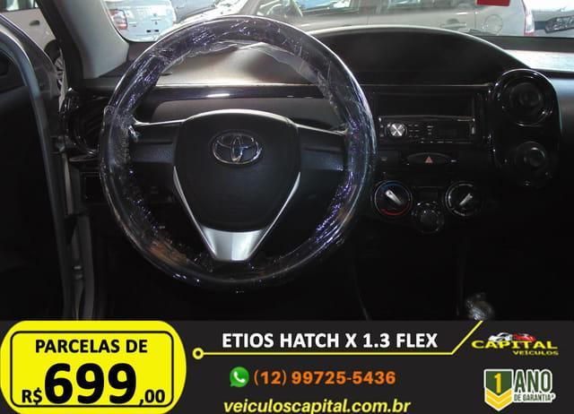 TOYOTA Etios Hatch 1.3 16V 4P FLEX, Foto 13