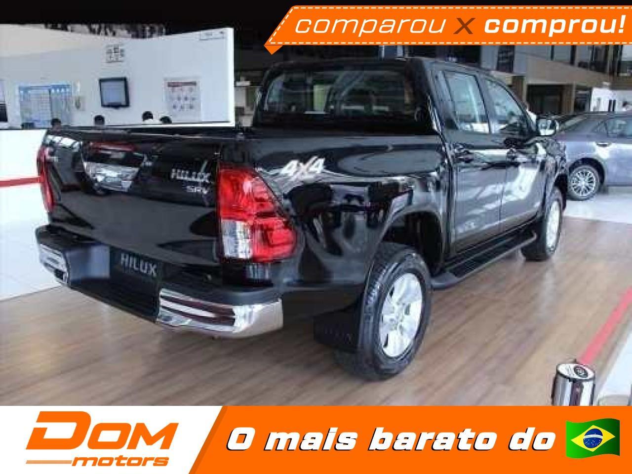 TOYOTA Hilux Caminhonete 2.7 16V 4P SRV FLEX 4X4  CABINE DUPLA AUTOMÁTICO, Foto 3