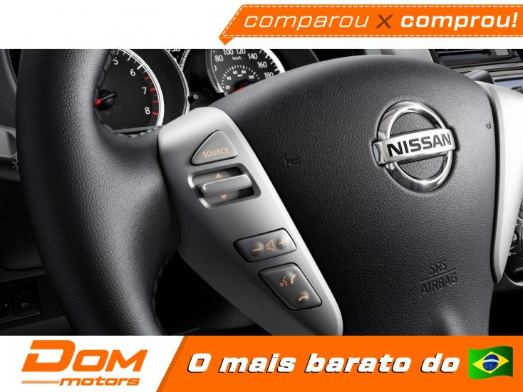 NISSAN Versa Sedan 1.6 16V 4P FLEX SENSE XTRONIC AUTOMÁTICO CVT, Foto 2
