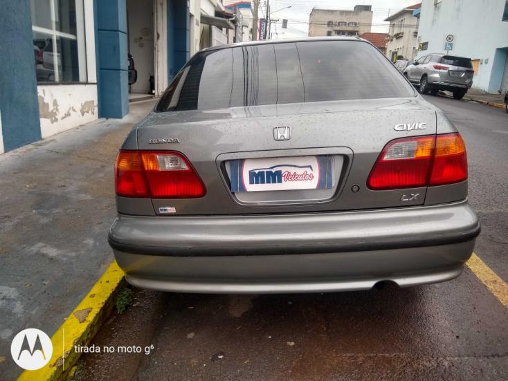 HONDA Civic 1.6 16V 4P LX AUTOMÁTICO, Foto 6