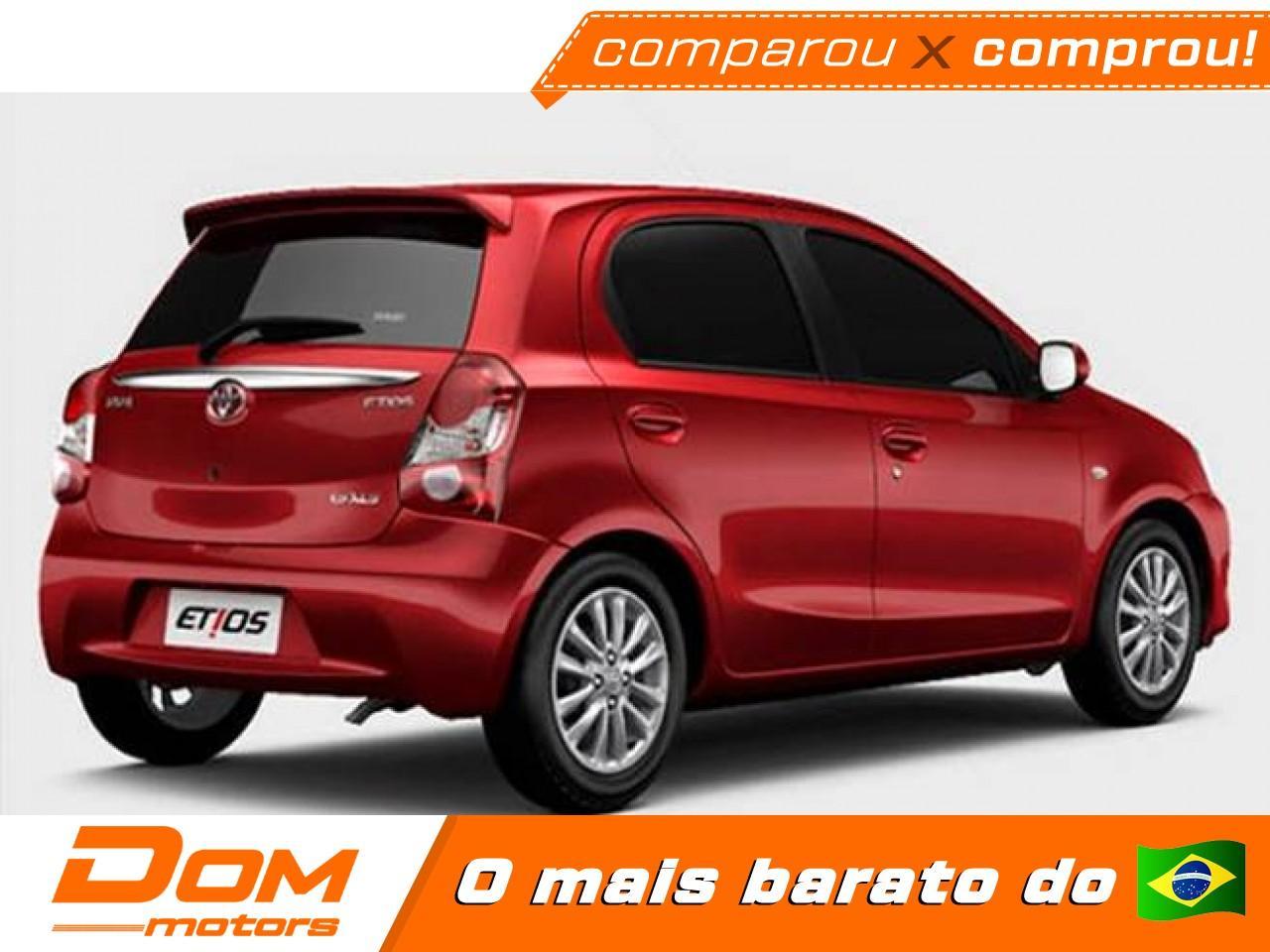 TOYOTA Etios Hatch 1.3 16V 4P FLEX X AUTOMÁTICO, Foto 3