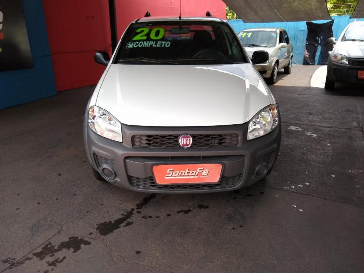 FIAT Strada 1.4 FLEX HARD WORKING CABINE ESTENDIDA, Foto 2