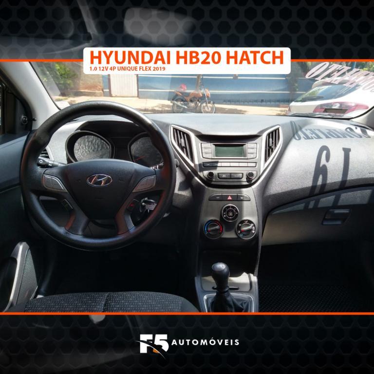 HYUNDAI HB 20 Hatch 1.0 12V 4P UNIQUE FLEX, Foto 9