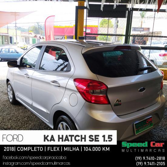 FORD Ka Hatch 1.5 12V 4P TI-VCT SE FLEX, Foto 16