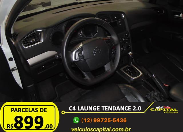 CITROEN C4 Sedan 2.0 16V 4P FLEX LOUNGE TENDANCE AUTOMÁTICO, Foto 14