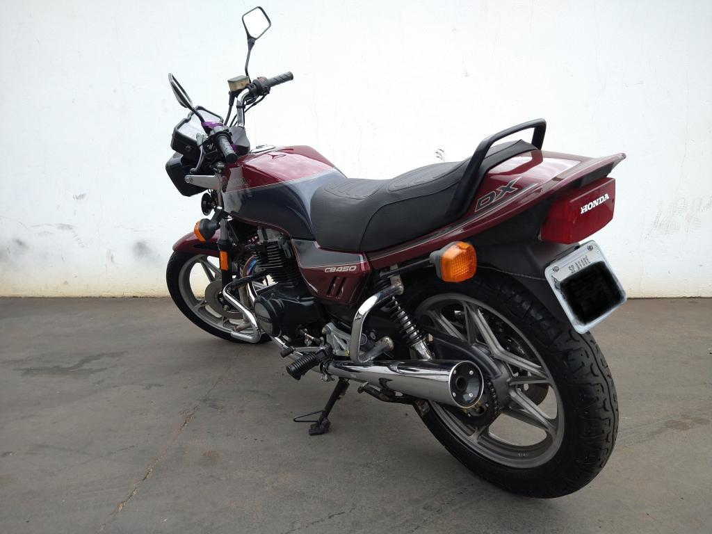 HONDA CB 450 DX, Foto 4
