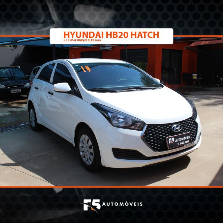 HYUNDAI HB 20 Hatch 1.0 12V 4P UNIQUE FLEX, Foto 2