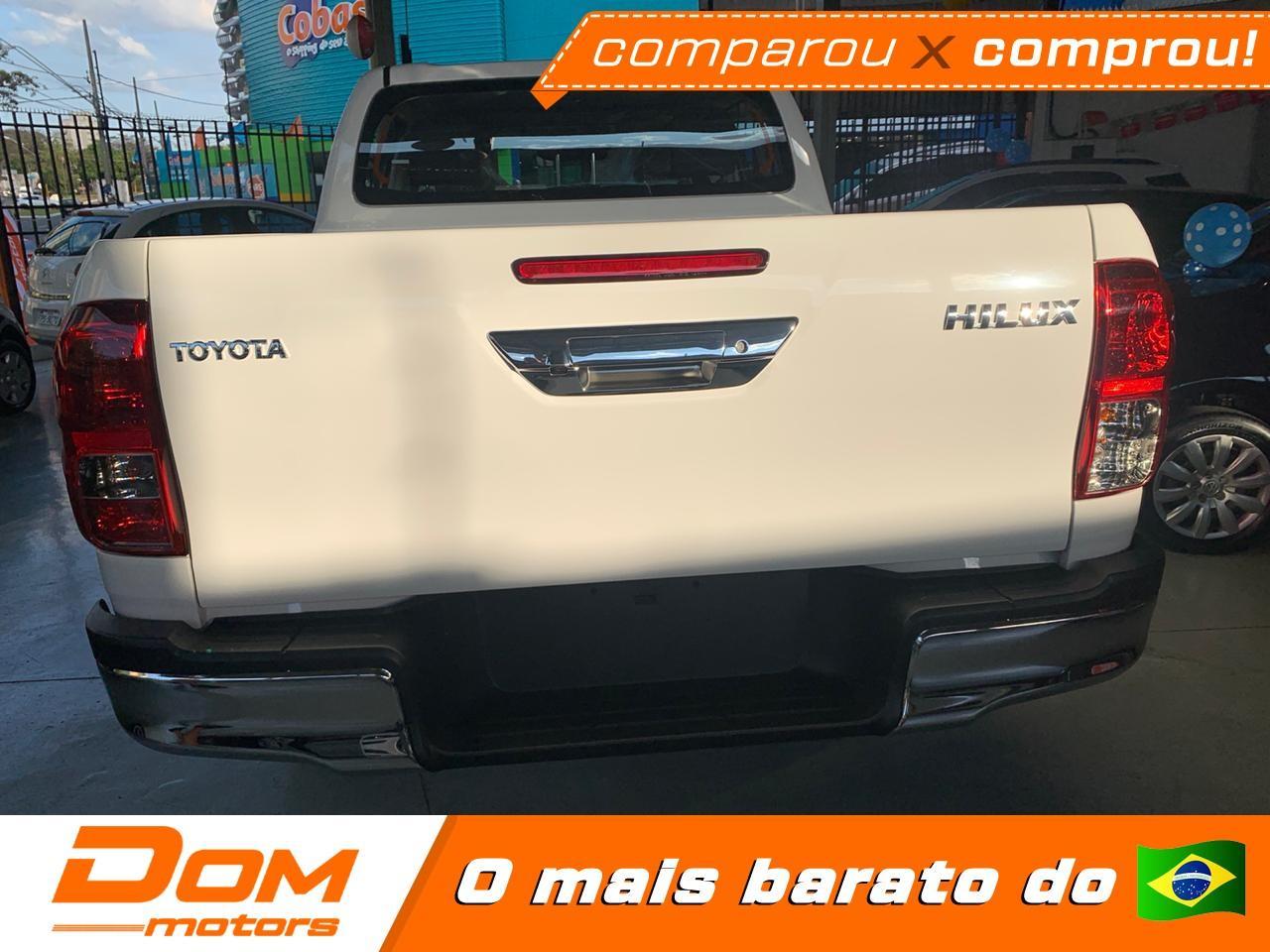 TOYOTA Hilux Caminhonete 2.7 16V 4P SR CABINE DUPLA AUTOMÁTICO, Foto 3