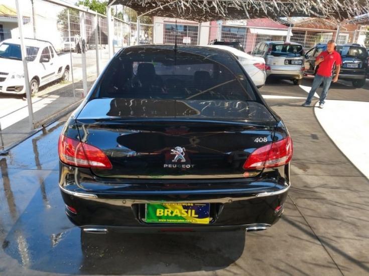 PEUGEOT 408 2.0 16V 4P FLEX FELINE AUTOMÁTICO, Foto 4