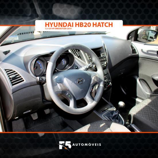 HYUNDAI HB 20 Hatch 1.0 12V 4P UNIQUE FLEX, Foto 8