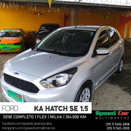FORD Ka Hatch 1.5 12V 4P TI-VCT SE FLEX, Foto 1