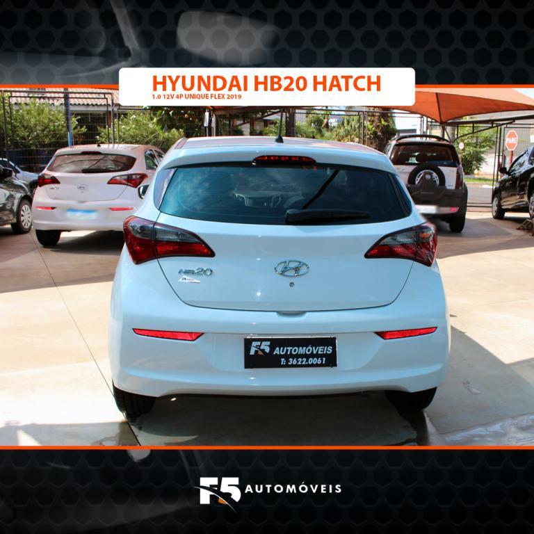 HYUNDAI HB 20 Hatch 1.0 12V 4P UNIQUE FLEX, Foto 6