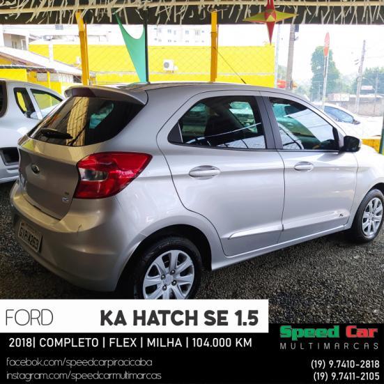 FORD Ka Hatch 1.5 12V 4P TI-VCT SE FLEX, Foto 3
