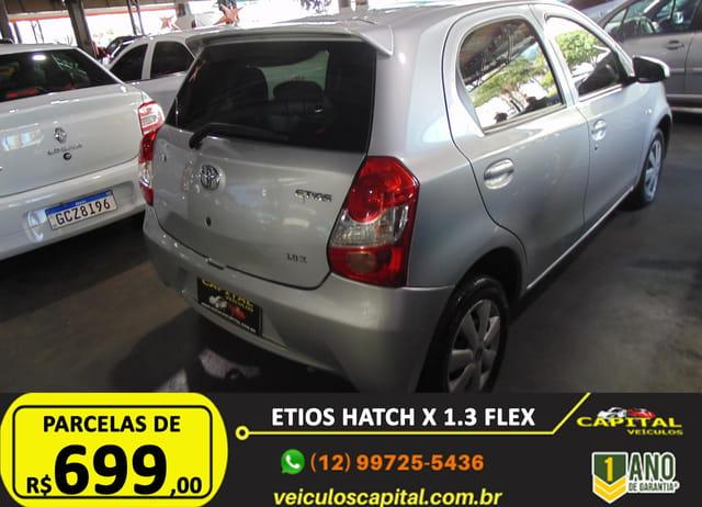 TOYOTA Etios Hatch 1.3 16V 4P FLEX, Foto 6