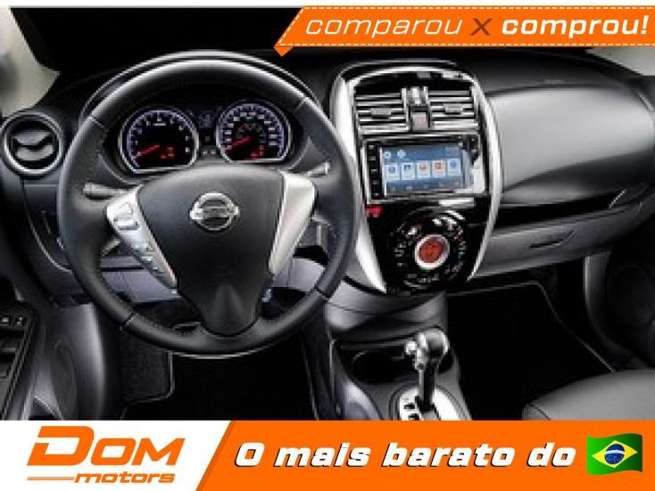 NISSAN Versa Sedan 1.6 16V 4P UNIQUE FLEX XTRONIC AUTOMÁTICO CVT, Foto 2