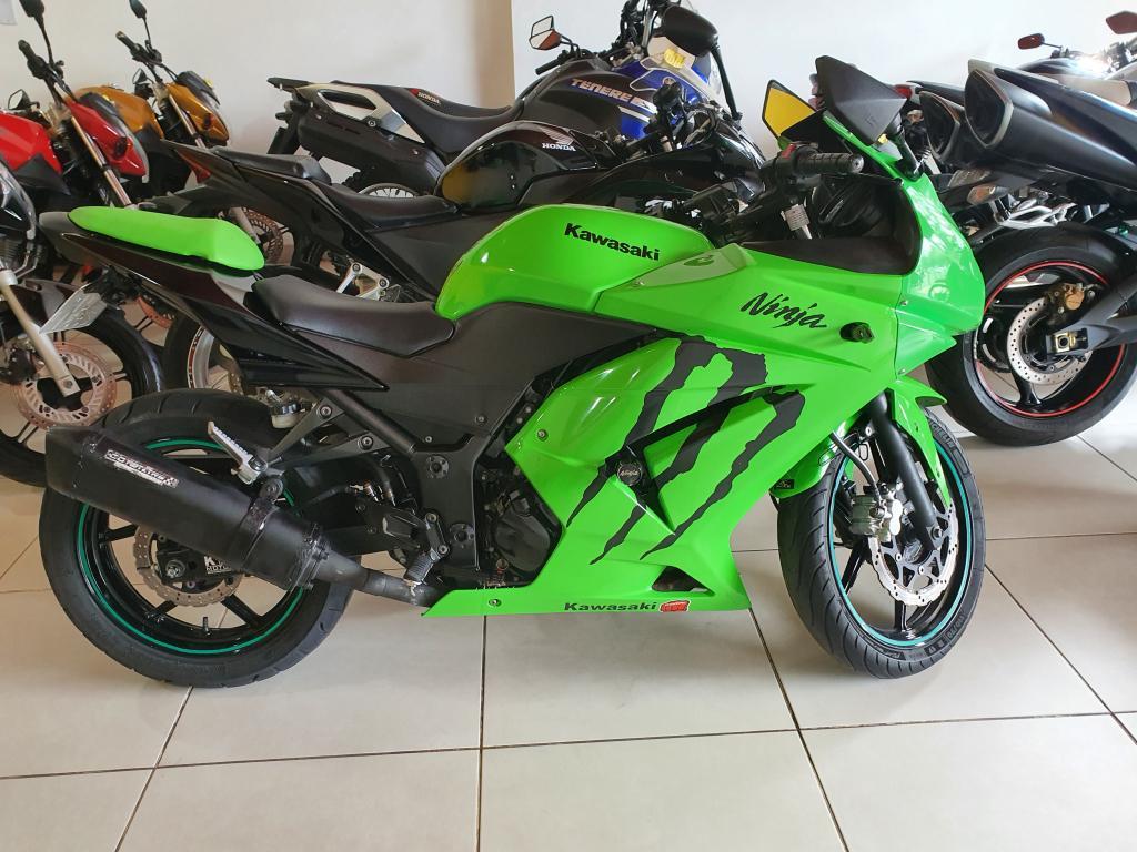 Kawasaki Ninja 250 R Verde 2010 Edu Motos Carro Araras