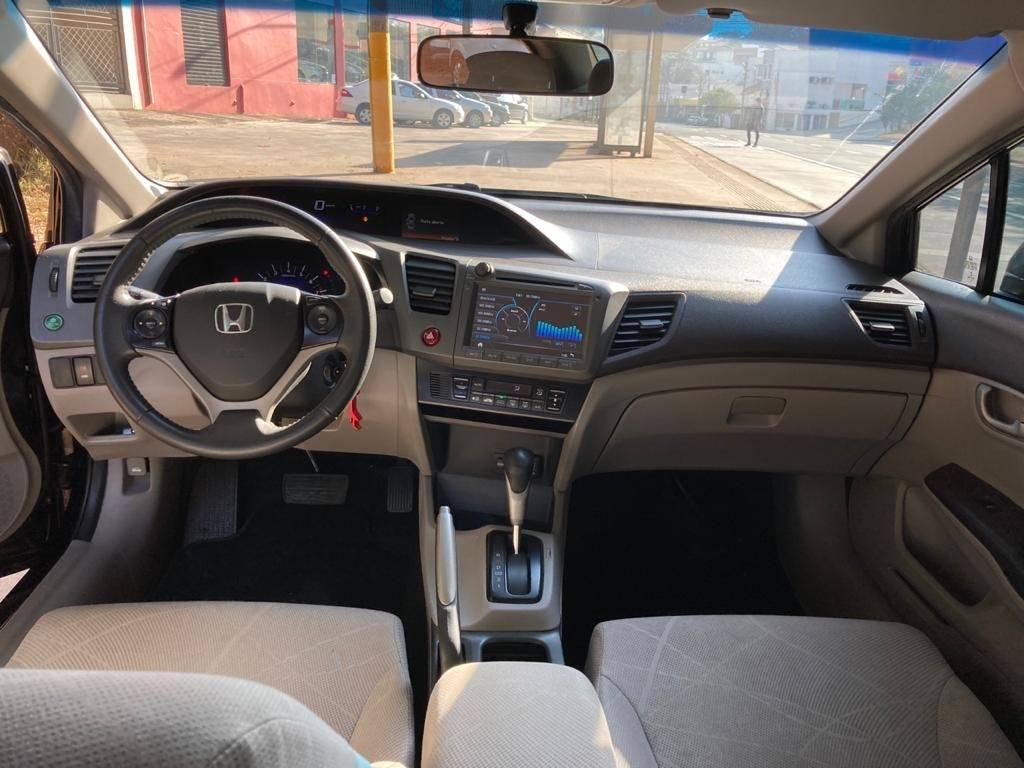 HONDA Civic 1.8 16V 4P FLEX LXS AUTOMÁTICO, Foto 9