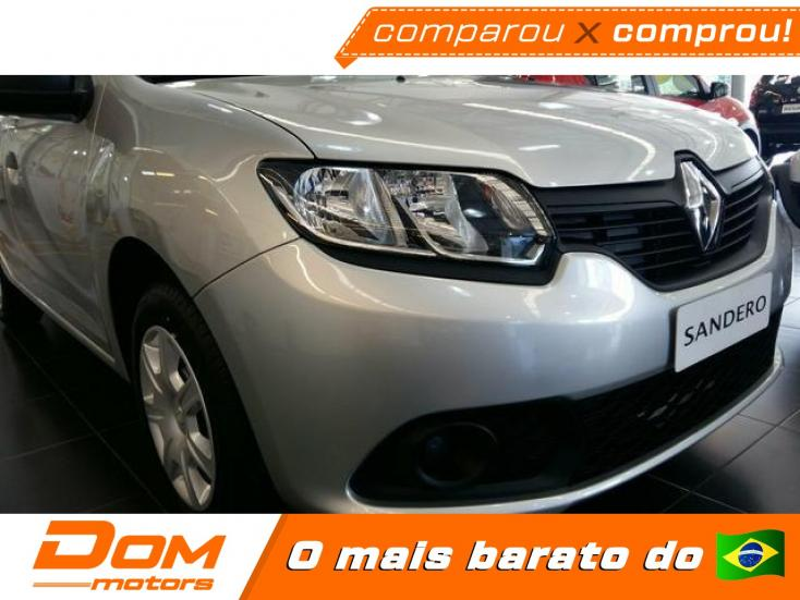 RENAULT Sandero 1.0 16V 4P FLEX AUTHENTIQUE, Foto 2