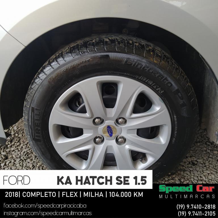 FORD Ka Hatch 1.5 12V 4P TI-VCT SE FLEX, Foto 9