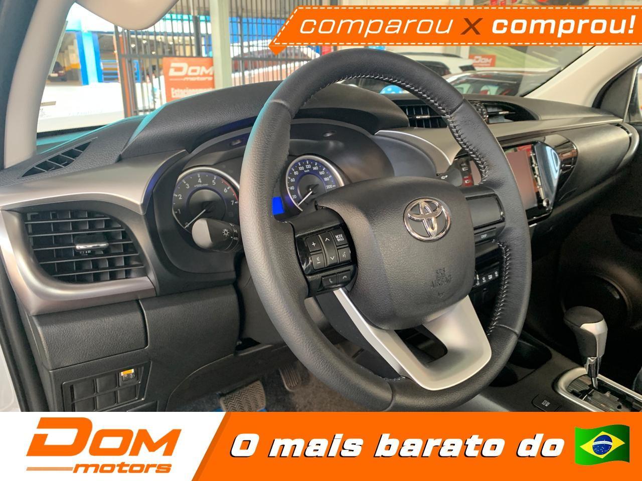 TOYOTA Hilux Caminhonete 2.7 16V 4P SR CABINE DUPLA AUTOMÁTICO, Foto 8