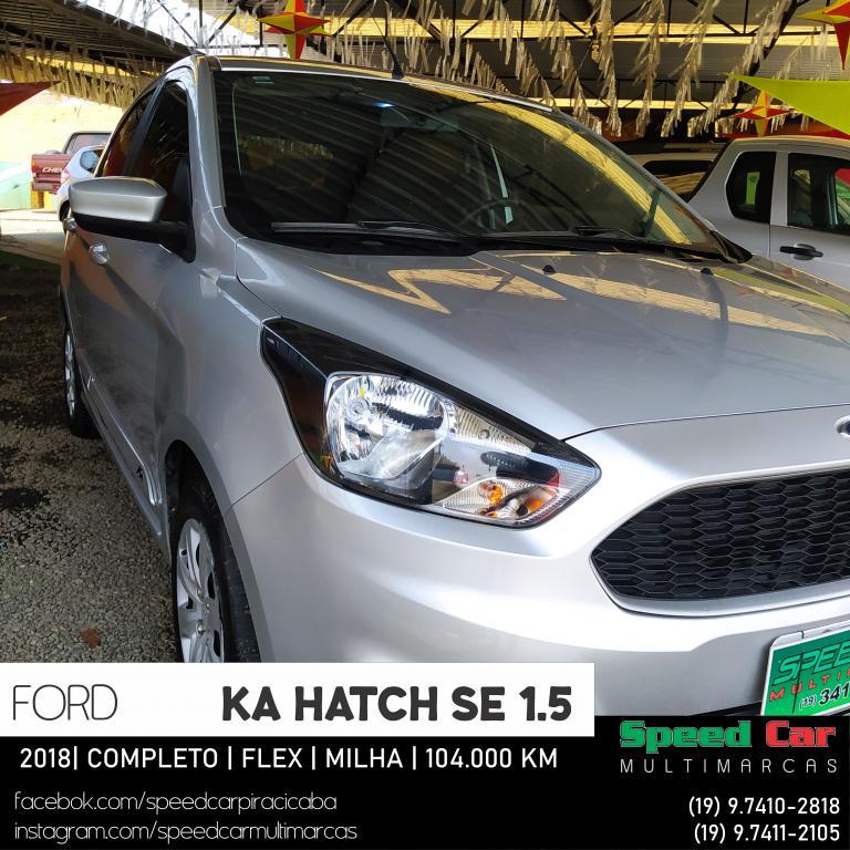 FORD Ka Hatch 1.5 12V 4P TI-VCT SE FLEX, Foto 10