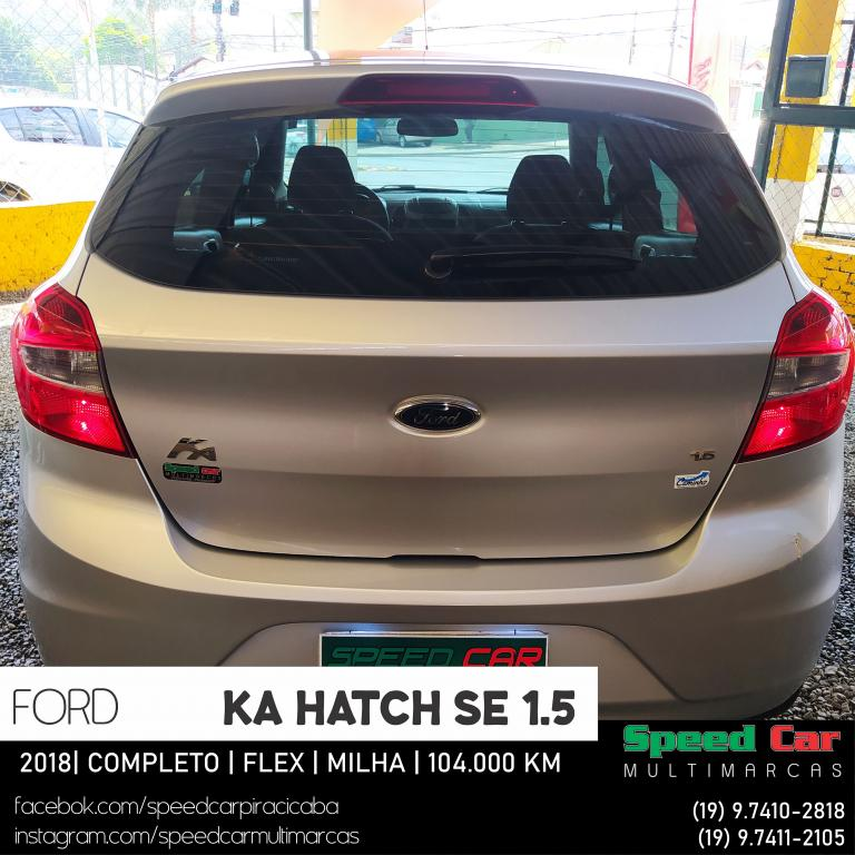 FORD Ka Hatch 1.5 12V 4P TI-VCT SE FLEX, Foto 17