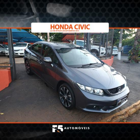 HONDA Civic 2.0 16V 4P FLEX LXR AUTOMÁTICO, Foto 2