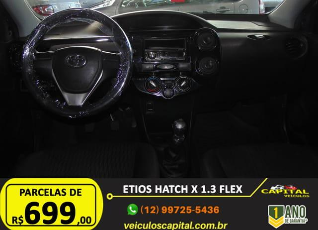 TOYOTA Etios Hatch 1.3 16V 4P FLEX, Foto 10
