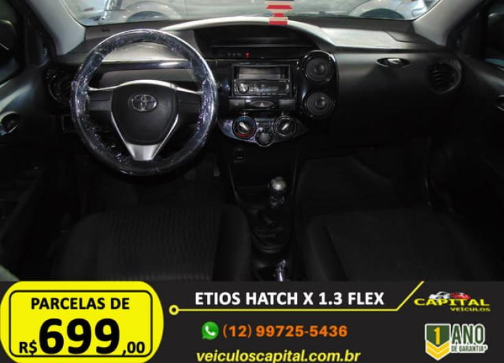 TOYOTA Etios Hatch 1.3 16V 4P FLEX, Foto 9
