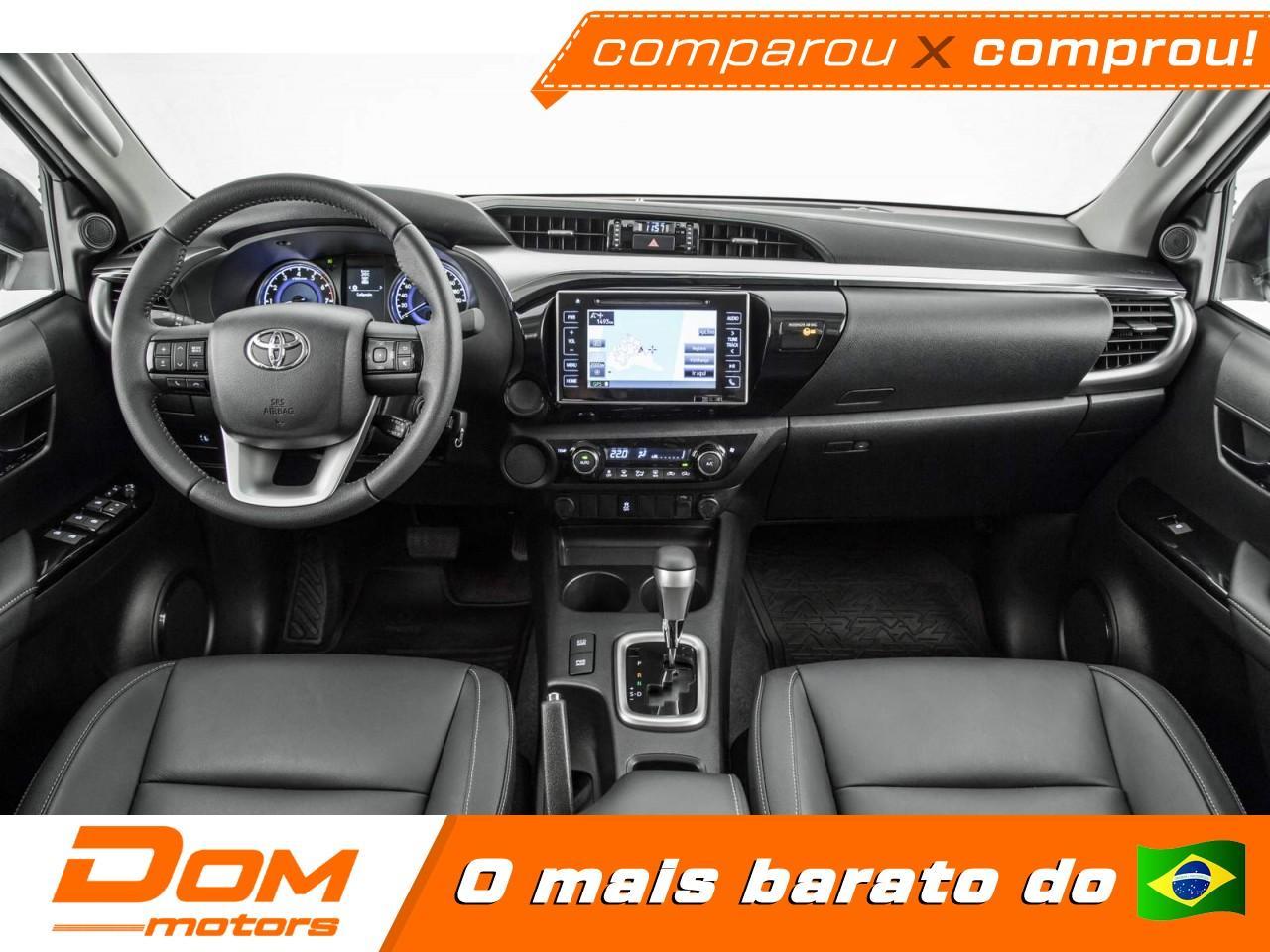 TOYOTA Hilux Caminhonete 2.7 16V 4P SRV FLEX 4X4  CABINE DUPLA AUTOMÁTICO, Foto 2