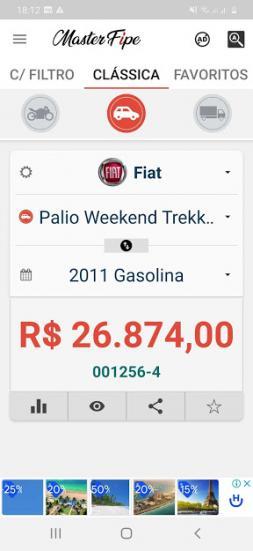 FIAT Palio Weekend 1.4 4P FLEX TREKKING, Foto 8