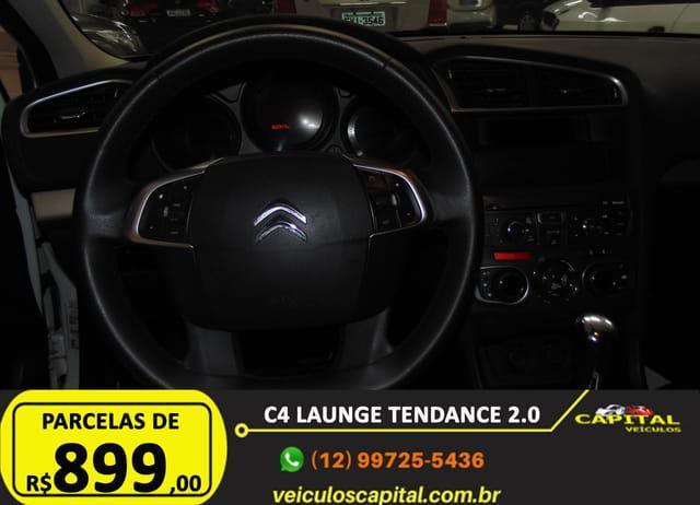 CITROEN C4 Sedan 2.0 16V 4P FLEX LOUNGE TENDANCE AUTOMÁTICO, Foto 15