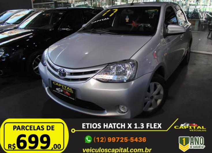 TOYOTA Etios Hatch 1.3 16V 4P FLEX, Foto 2