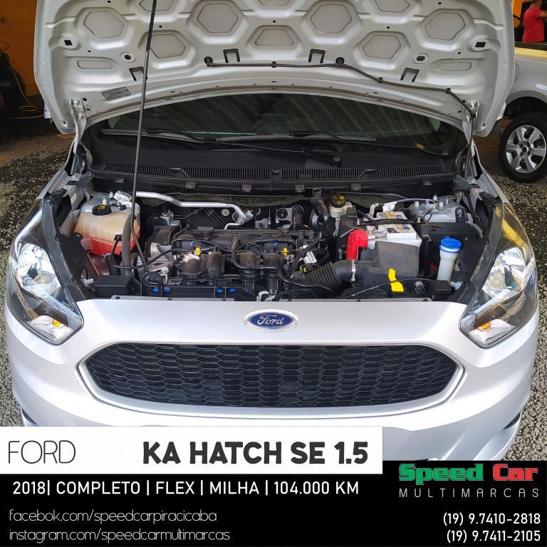 FORD Ka Hatch 1.5 12V 4P TI-VCT SE FLEX, Foto 18