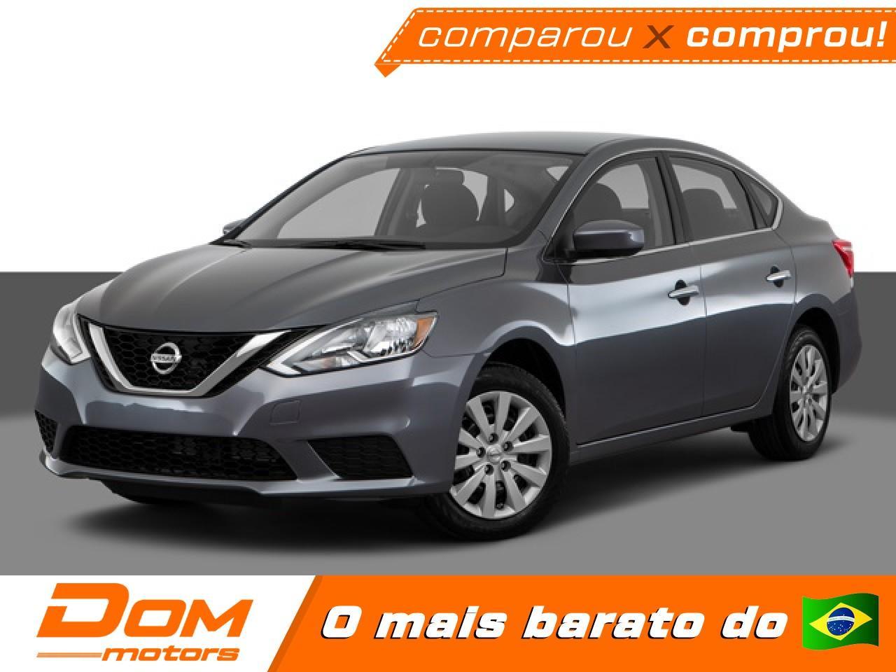Nissan Sentra 2 0 16v 4p S Flex Automatico Cvt Variadas 2019 0km Dom Motors Carro Guara