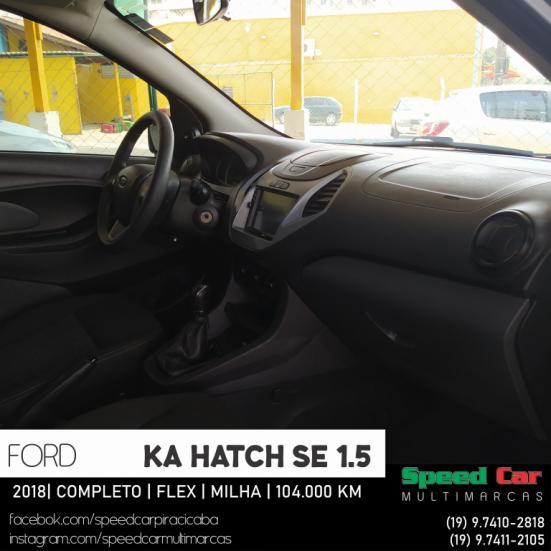 FORD Ka Hatch 1.5 12V 4P TI-VCT SE FLEX, Foto 12