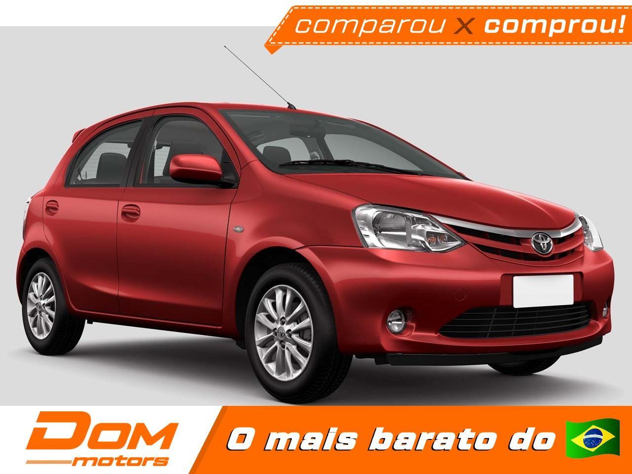TOYOTA Etios Hatch 1.3 16V 4P FLEX X AUTOMÁTICO, Foto 1