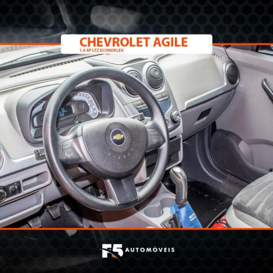 CHEVROLET Agile 1.4 4P LTZ ECONOFLEX, Foto 8