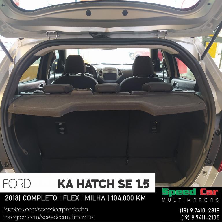 FORD Ka Hatch 1.5 12V 4P TI-VCT SE FLEX, Foto 14