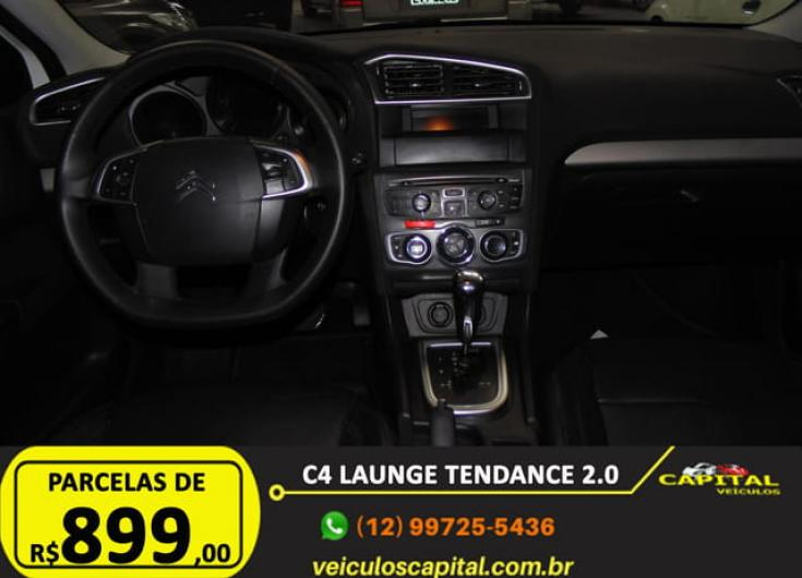 CITROEN C4 Sedan 2.0 16V 4P FLEX LOUNGE TENDANCE AUTOMÁTICO, Foto 12