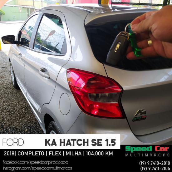 FORD Ka Hatch 1.5 12V 4P TI-VCT SE FLEX, Foto 13