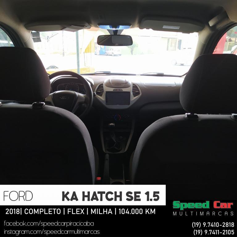 FORD Ka Hatch 1.5 12V 4P TI-VCT SE FLEX, Foto 15