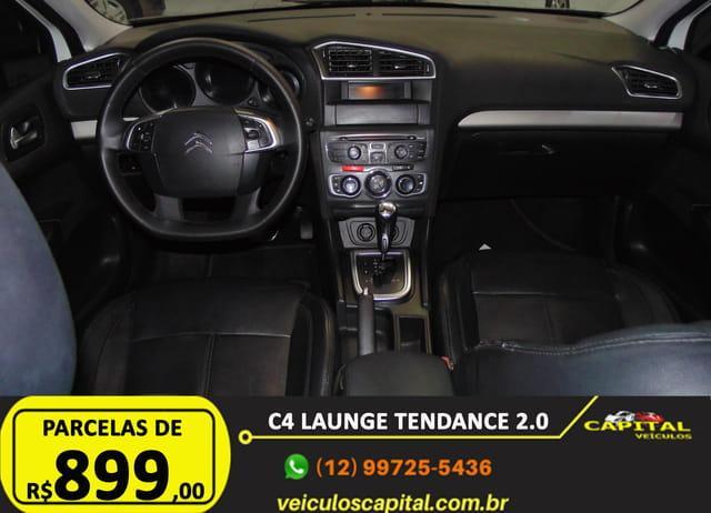 CITROEN C4 Sedan 2.0 16V 4P FLEX LOUNGE TENDANCE AUTOMÁTICO, Foto 11